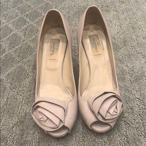 Valentino rose heels